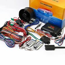CRIMESTOPPER SP-402 1-WAY SECURITY SYSTEM W/ REMOTE START & KEYLESS ENTRY