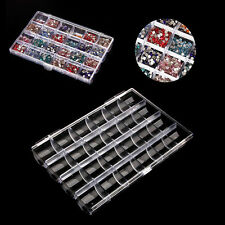 24 Grids Transparent Jewelry Storage Box Acrylic Container For Bead Ring Earring