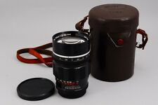 """Exc++"" Canon 100mm F/2 MF Lens for Leica Screw Mount LTM L39 From Japan A601"
