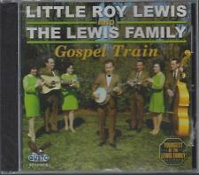 LITTLE ROY LEWIS & THE LEWIS FAMILY GOSPEL TRAIN Bluegrass Banjo NEW CD