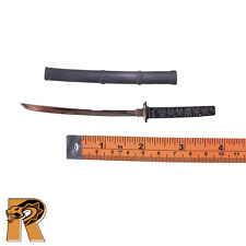Katana Sword - Short Sword (Metal)  - 1/6 Scale - Wolfking Action Figures