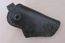 New handmade genuine black leather Derringer holster western cowboy gift