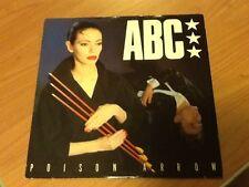 """12"""" MIX ABC POISON ARROW NEUTRON REC. NTX 102   VG+/EX- UK 1982 BXX"""