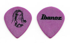 Steve Vai Signature Hieroglyph Purple Guitar Pick - 2005 Real Illusions Tour
