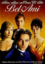 Bel Ami (DVD, 2012), NEW !!! Robert Patinson Uma Therman Drama Lust Betrayal