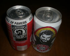 2 PITTSBURGH STEELERS JACK HAM CANS - IRON CITY BEER - COCA COLA