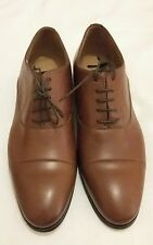 PAOLO SARTORI Brown Leather Oxford Formal Lace-up Shoe uk 8 eu 42 Made in italy