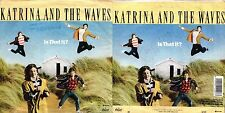 DISCO 45 GIRI KATRINA AND THE WAVES ‎– IS THAT IT?/ I REALLY TAUGHT ME TO WATUSI
