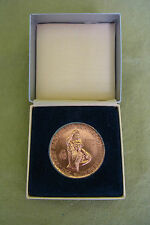 DDR Medaille - 750 Jahre Mansfelder Kupferschieferbergbau - VEB Mansfeld - Pieck