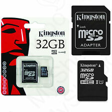 Original Speicherkarte Kingston Micro SD Karte 32GB Tablet Für Odys Xelio PhoneT