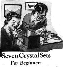 Build 7 Crystal Radio Receivers For Beginners Crystal Set Make Circuits #120