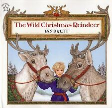 The Wild Christmas Reindeer, Jan Brett, Acceptable Book
