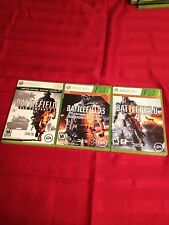 Battle Field 2, 3 & 4 - Xbox 360 Special Edition Lot L@@k