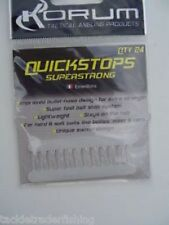 KORUM KARPFEN QUICKSTOPS SUPERSTARK KLAR - MENGE 24 PRO PACKUNG