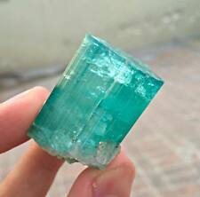 43.50 Grams Supreme Quality Paraiba Color Terminated Tourmaline Crystal