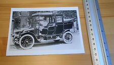 Post Card 1911 Renault Motor Taxi Cab