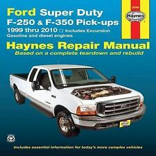 1999-2010 Ford F250 F350 Super Duty Excursion PickUp Haynes Repair Manual 8566
