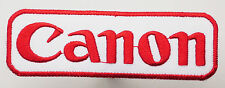 CANON INC. Cameras - Camera Logo - Iron-On Patch - MIX 'N' MATCH - #3L06