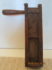 OLD SHIP'S DISTRESS CALL WOODEN BATTLE RATTLE