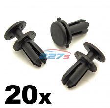 20x Audi 5mm Plastic Rivets- Trim Clips for Bonnet Seal, Bumper, Spoiler & Dash