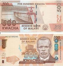 Malawi - 500 Kwacha 2014 UNC - Pick New