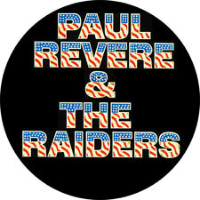 CHAPA/BADGE PAUL REVERE & THE RAIDERS . pin button garage fuzztones sonics lyres