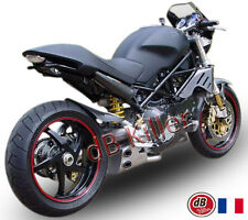 POT D'ECHAPPEMENT LIGNE QD EXHAUST EX-BOX DUCATI MONSTER S4R 04/05/06