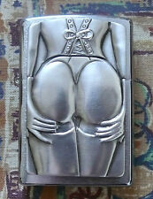NOVELTY 3D STOCKING GIRL ZIPPO LIGHTER FREE P&P FREE FLINTS