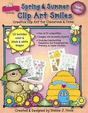 Spring & Summer Clip Art Smiles: Creative Clip Art for Classroom & Home with CDR
