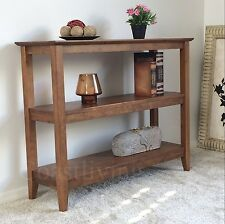 Brand New  Solid timber  Wooden  bookcase Bookshelf console Hall table
