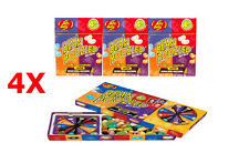 4X 4th edition 1 Jelly Belly Spinner Game Box  + 3 Bean Boozled  #102243L
