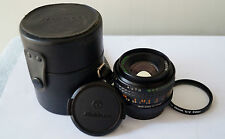 AUTO MAKINON MULTI-COATED 50mm F1.7 FAST lens fits PENTAX K (PK)mount prime lens