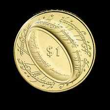 NEW ZEALAND: 2003  UNCIRCULATED $1 LORD OF THE RINGS COIN!!! LOTR COINS