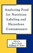 Analyzing Food for Nutrition Labeling and Hazardous Contaminants (Food-ExLibrary