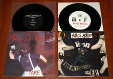 "STAGE BOTTLES 2x VINYL 7"" LTD Lot TAKE THAT & THEY ARE WATCHING ME Street Punk"