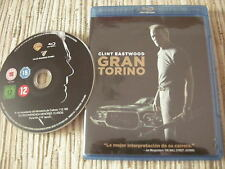 BLU RAY BLURAY PELICULA GRAN TORINO CLINT EASTWOOD USADO BUEN ESTADO