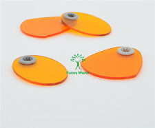 4Pcs 2type Dental Shield Plate Shade Board Light Hood for Curing Light Lamp