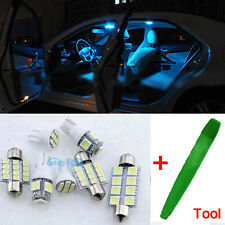 LED Interior Premium SMD Bulbs Lamp 10Pcs Ice Blue For Mazda 6 GG GY G1 ML