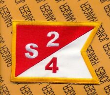 US Army S/4/2 2nd Cavalry ACR Aviation Guidon Flag shoulder pocket patch