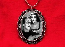 LILY HERMAN MUNSTER DRACULA FRANKENSTEIN NECKLACE GOTH