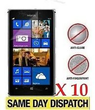 10 X Nokia Lumia 925 Anti-Glare Matte Screen Protectors Film Cover & Free Cloth