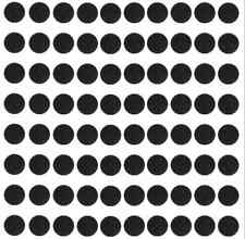 Gaming Miniatures bases 80pcs 40mm ROUND PLASTIc BASES