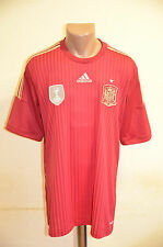 *BNWT* SPAIN NATIONAL TEAM WORLD CUP 2014 NEW HOME FOOTBALL SHIRT JERSEY NIKE
