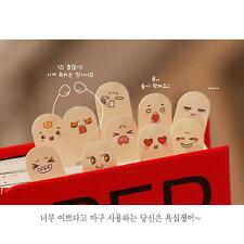 Cute 10 Fingers Sticker Post-It Bookmark Point Marker Memo Paper Sticky Notes