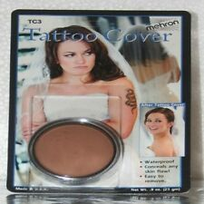 Mehron Tattoo Cream Cover Up TC3 Flaw Concealer, Birthmarks, Discolorations
