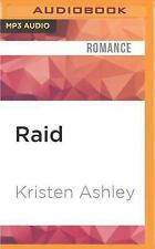The Unfinished Hero: Raid by Kristen Ashley (2016, MP3 CD, Una (FREE 2DAY SHIP)