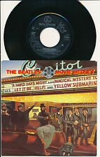 """THE BEATLES 45 TOURS 7"""" HOLLANDE THE BEATLES' MOVIE MEDLEY"""