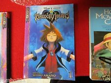 KINGDOM HEARTS disney squaresoft issue #1 manga anime ENGLISH final fantasycomic