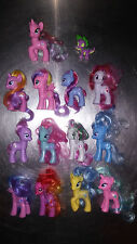 MLP Lot 13 Rare G4 Ponies + 1 Spike Dragon HTF Rainbow Flash Skywishes Starswirl