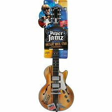 Wow Wee Paper Jamz Guitars Series II Style 1 SB Guitar Play like A Pro